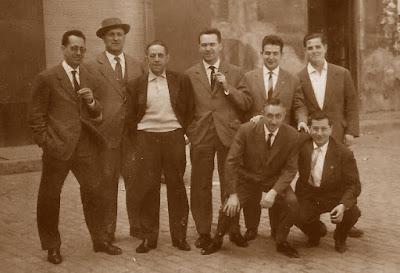 Equipo del Club de Ajedrez Terrassa en Zaragoza en 1961
