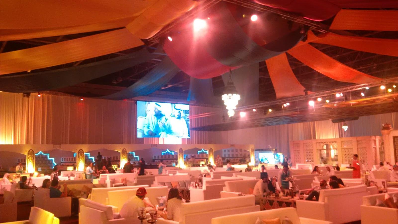 Emirates Trends: Diaries of a fasting man: The Majlis Ramadan Tent