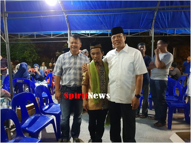 Wakapolda dan Kapolrestabes Berbelasungkawa, Meninggalnya Istri Ustadz Nur maulana