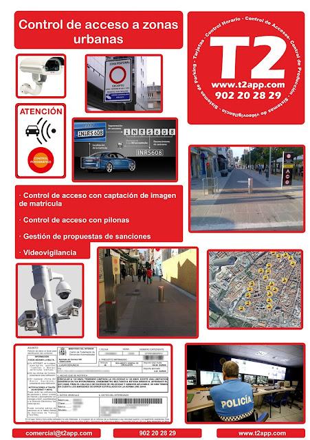 Control acceso zona urbana