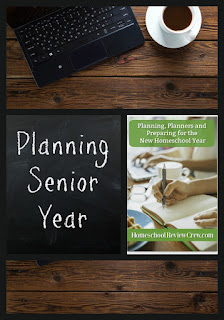 Planning Senior Year on Homeschool Coffee Break @ kympossibleblog.blogspot.com