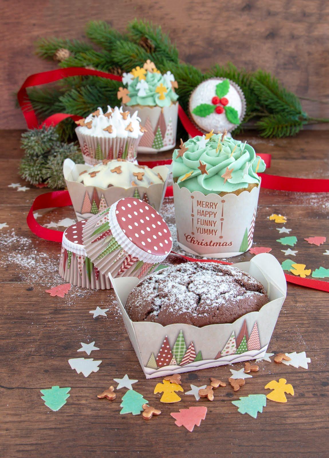 Städter Papierbackförmchen für Muffins, kleine Kuchen und Cupcakes