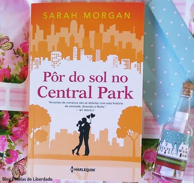 Resenha, livro, Por-do-Sol-no-Central-Park, Sarah-Morgan, Harlequin, blog-literario, petalas-de-liberdade, para-nova-york-com-amor, capa, trecho