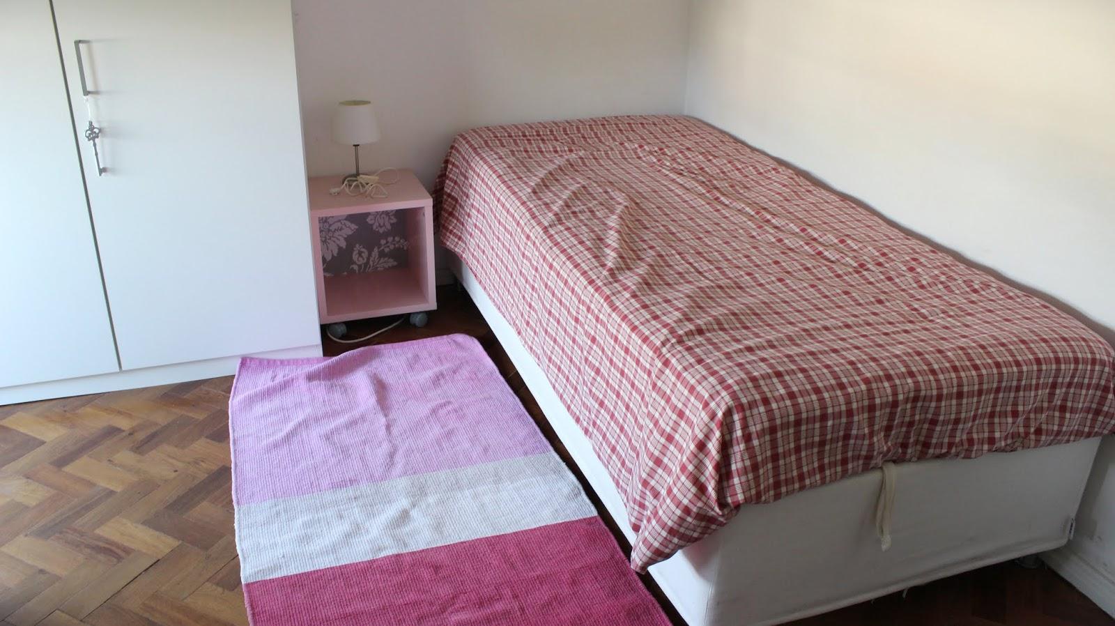 como decorar um quarto alugado antes