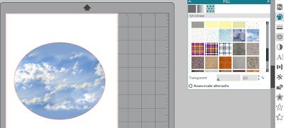 Silhouette Studio - skapa mönster med hjälp av fyllningsfärg