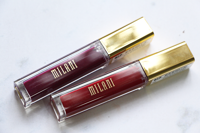 Milani Amore Lip Cream in Devotion & Obsession