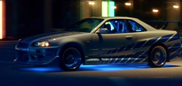 Nissan 1999 Skyline Gtr R34 From 2 Fast 2 Furious Cool