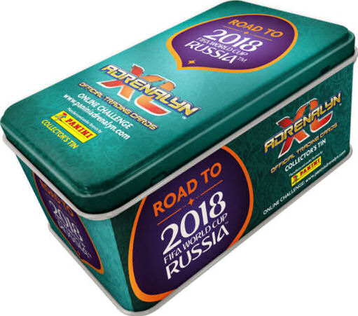 Road To Fifa World Cup Russia 2018 Adrenalyn Xl Collectors Tin