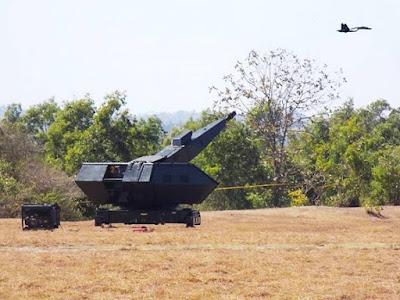 Oerlikon Skyshield Paskhas TNI AU