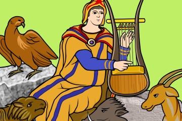 オルフェウスの竪琴