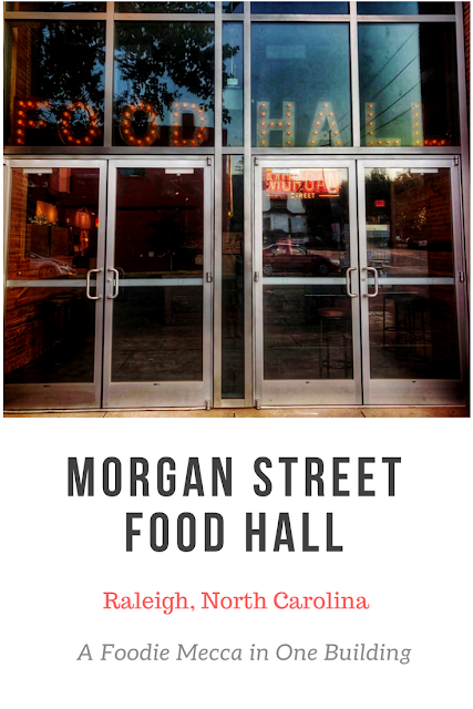 What you Should Expect at Morgan Street Food Hall in Raleigh, NC