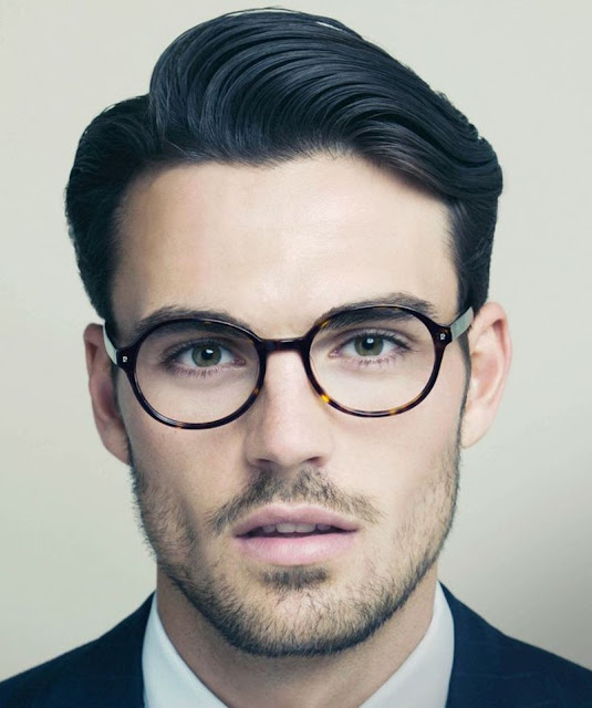 retro hairstyle men
