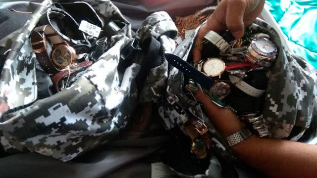 Policía detiene a uruguayo y mexicana por robo en joyería de Punta del Este