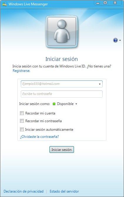 messenger hotmail 2009