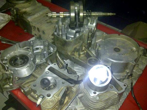 Estimasi Budget Bore Up Motor Matic Suzuki