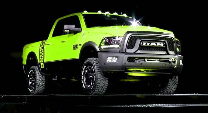 2017 DODGE RAM 2500 truck engine power