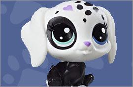 LPS Dalmatian Figures