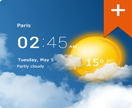 Transparent clock & weather Pro 0.91.07.01 Android