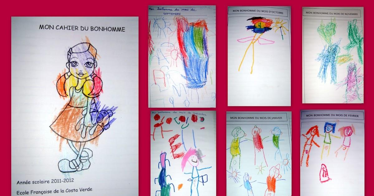 Classe Maternelle Ps Ms 2011 2012 Le Cahier Du Bonhomme