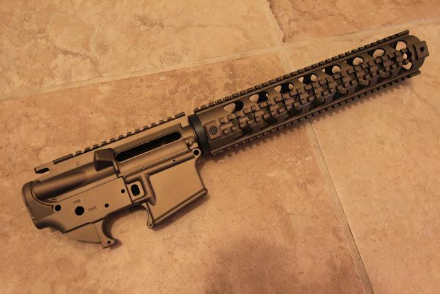 Burnt Bronze Cerakoted AR15 kit - lower, upper, forend - 24hourcampfire
