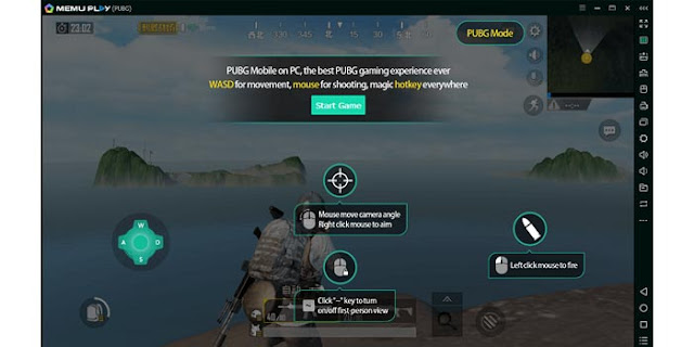 Memu Play Emulator PUBG Mobile PC