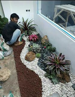 Tukang pembuat taman murah