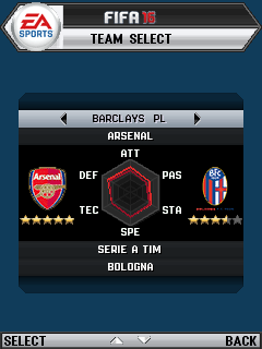 FIFA 16 game ponsel Java jar
