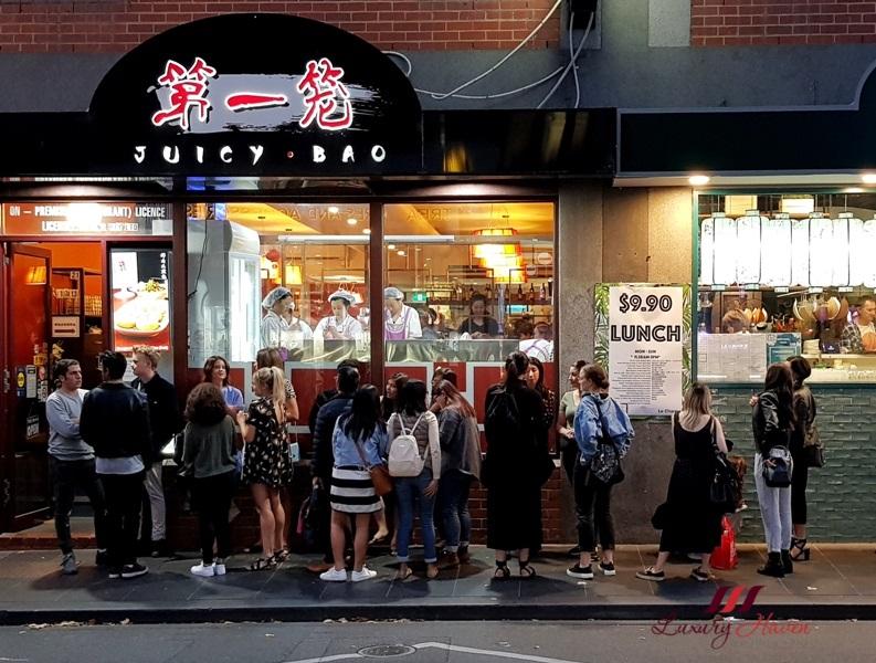 foodies street melbourne chinatown juicy bao