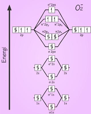 Trik menentukan orde ikatan urip dot info diagram orbital molekul o2 ccuart Gallery