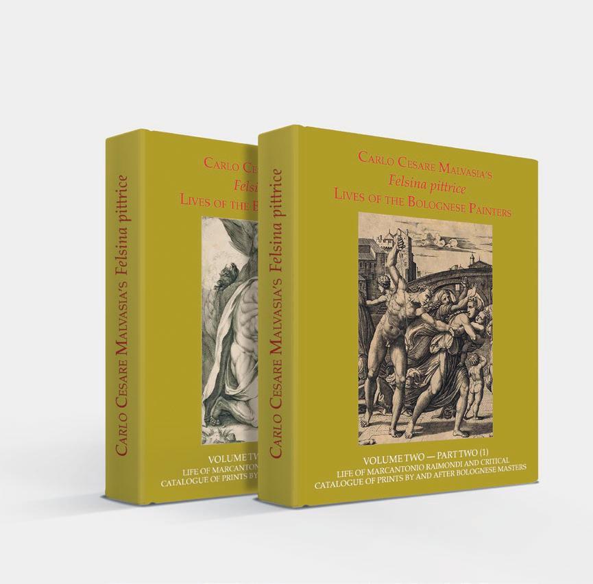 09e4b52ed805 Carlo Cesare Malvasia. Felsina Pittrice.  Vita di Marcantonio Raimondi e  catalogo critico delle stampe di o tratte da maestri bolognesi . Parte  Seconda