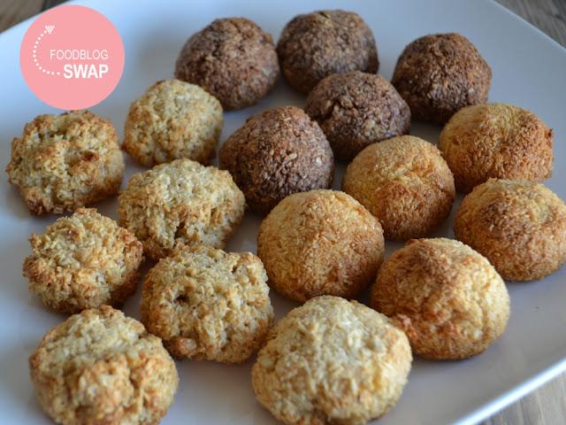 Kokosbollen voor de foodblogswap