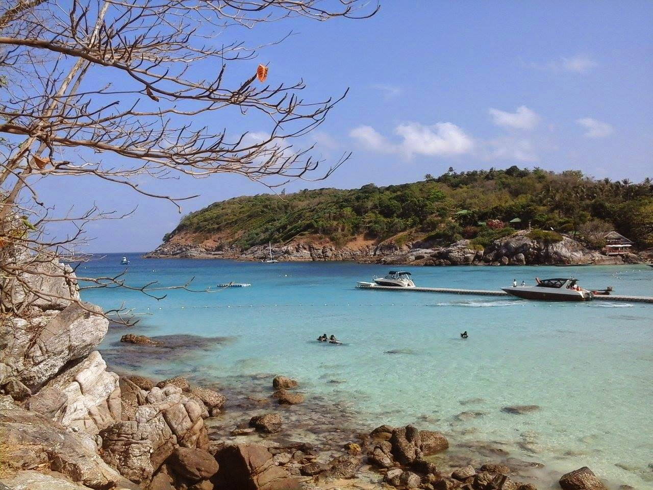 Sunrise tour at Racha yai island