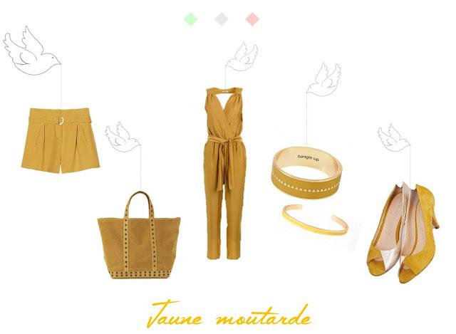 printemps été 2016 mode moutarde