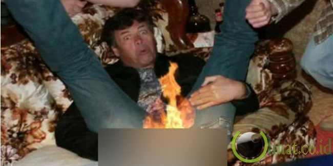 Kentut Mudah Terbakar?