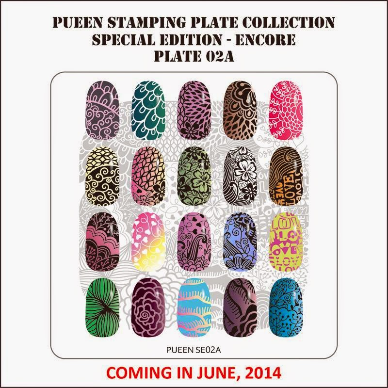 Lacquer Lockdown: Hot Off The Stamping Press: Pueen ...