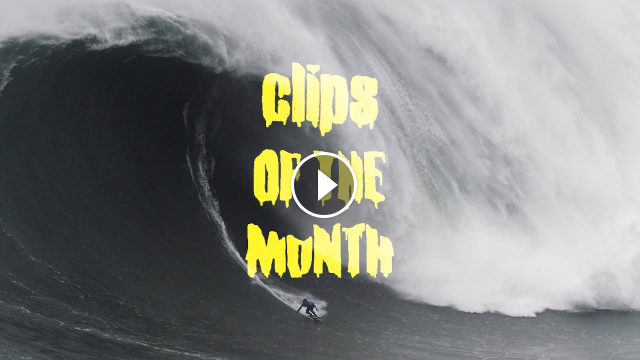 Is This The Most Terrifying Wave Ever Filmed at Nazare Clips of the Month Feb 2020