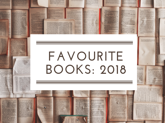 Favourite books reads in 2018