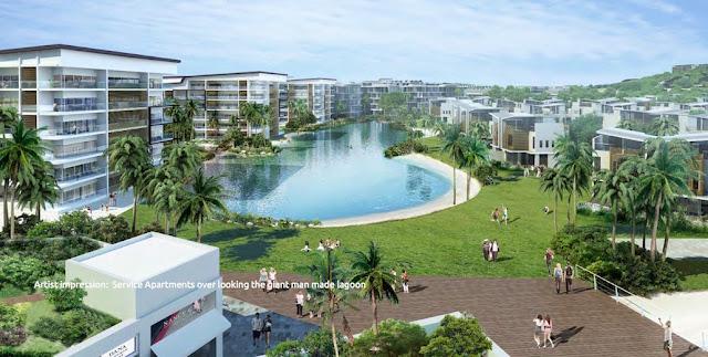 Nuvasa Bay Batam Gian Man Made Lagoon