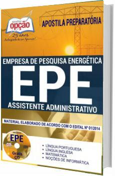 Apostila EPE 2018 Assistente Administrativo