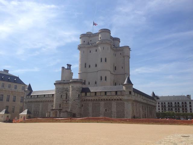 Castilo de Vincennes en París
