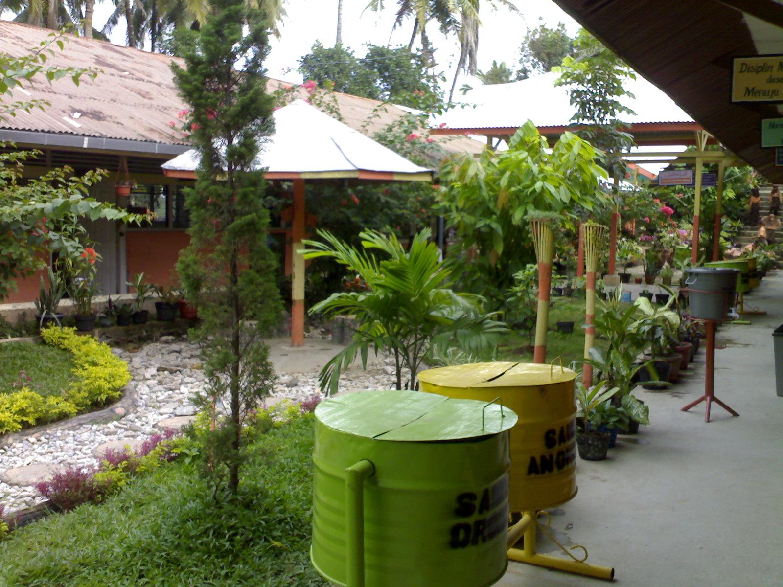 Desain Taman Sekolah Adiwiyata Nusagates