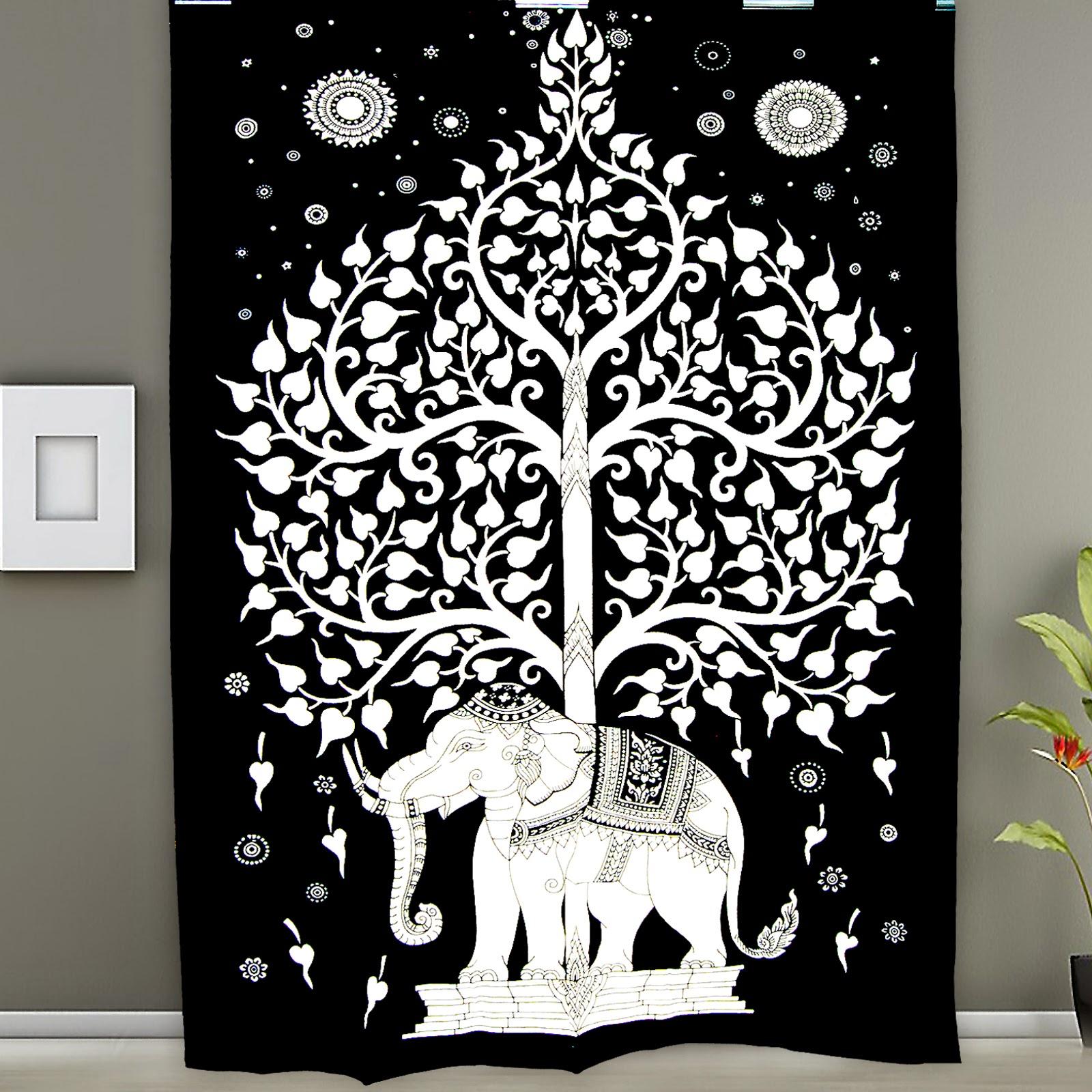 Hippie Tapestries Mandala Tapestries Queen Boho Tapestries Wall