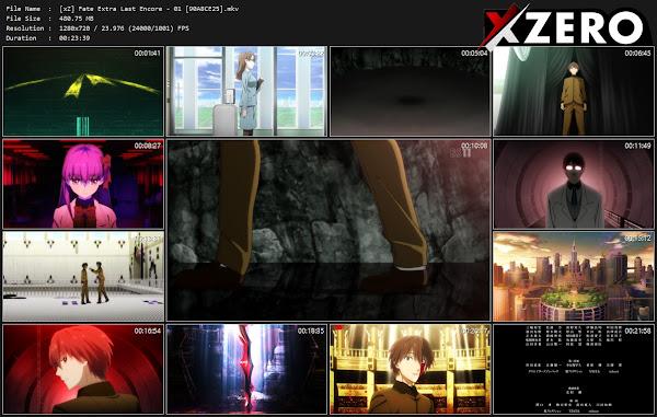 Capturas de Fate/EXTRA Last Encore
