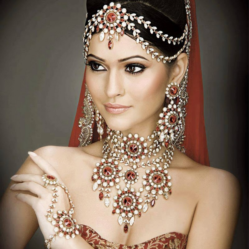 Latest Ustave Indian Bridal Jewelry Designs Sari Info