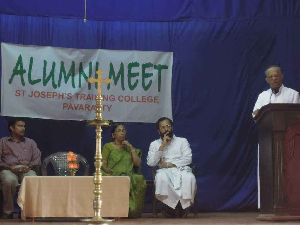 Alumni meet 2013 held | St Joseph's Training College Pavaratty