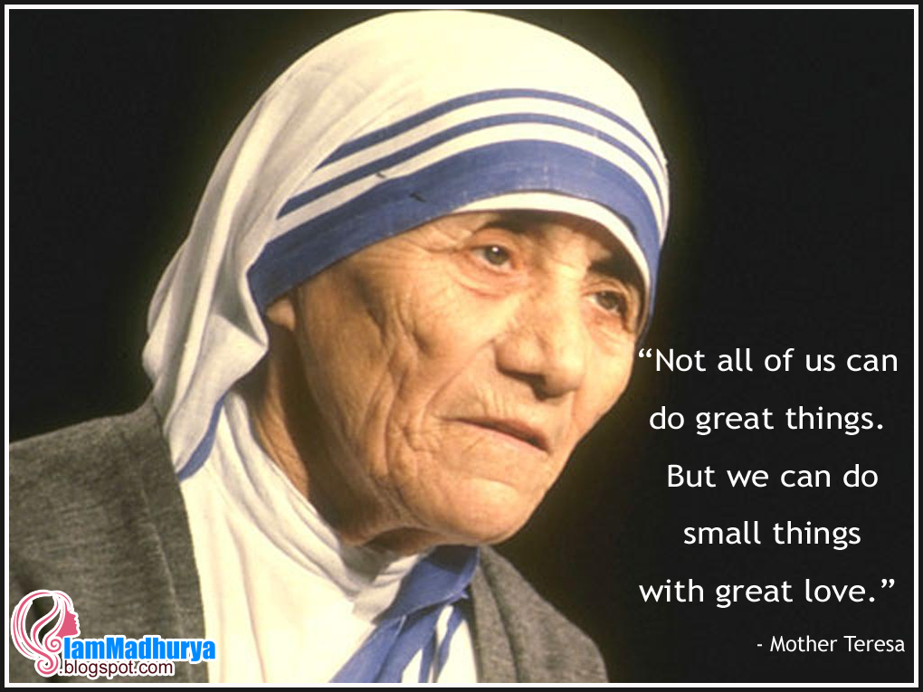 English Mother Teresa Inspiring Quotes Wishes And Best Message