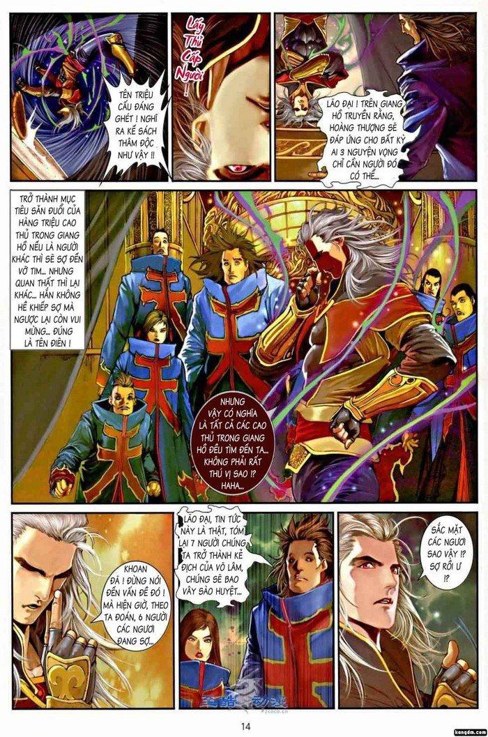 Ôn Thụy An Quần Hiệp Truyện chap 2 trang 12