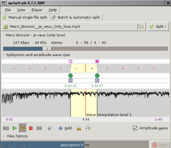 تحميل برنامج قص الاغاني مجانا للكمبيوتر برابط مباشر mp3splt