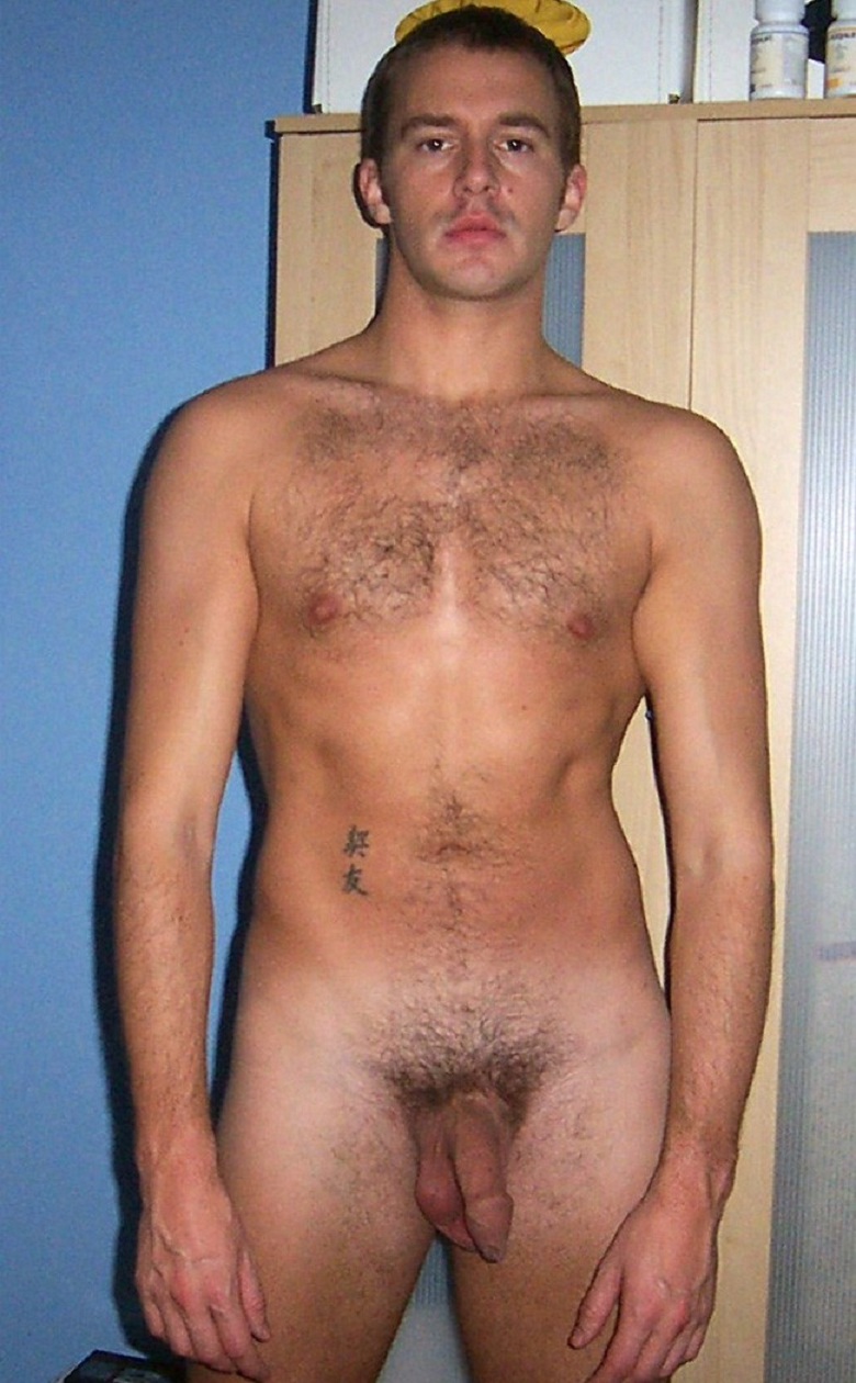 Amateur nude hairy male photos gay chris 8