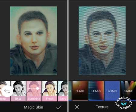 aplikasi edit foto Camera360 dengan efek keren
